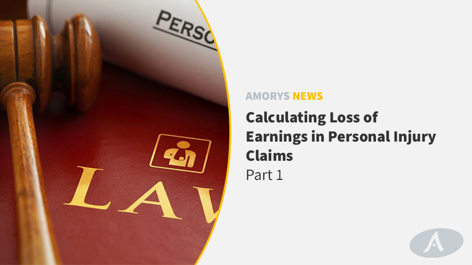 Amorys Solicitors - Loss of Earnings in Personal Injury Claims