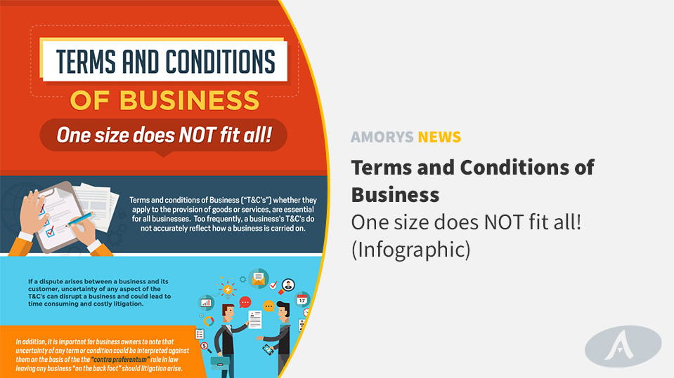 Amorys Solicitors Blog Post - Terms and Conditions of Business