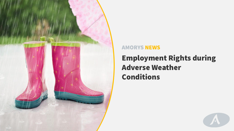 Employment Rights during Adverse Weather Conditions - Amorys News