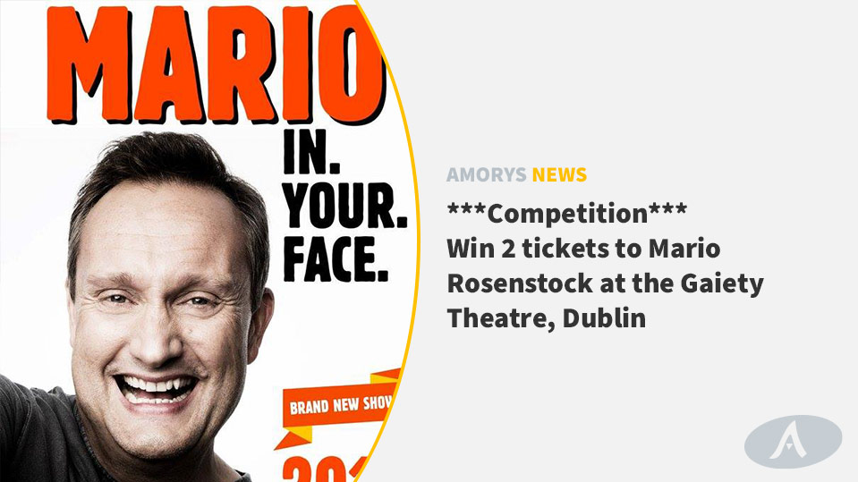 Win a ticket to Mario Rosenstock