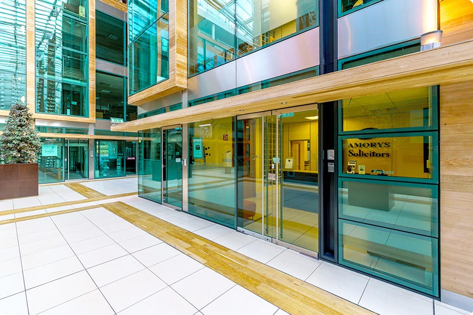 Amorys Solicitors Office at the Beacon Court, Sandyford, Dublin 18