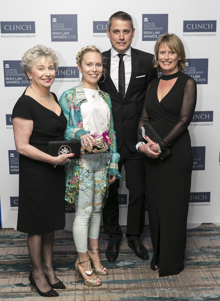 Amorys Solicitors Team - Winner at the Irish Law Awards 2018
